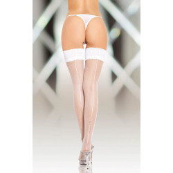 Stockings 5537 white/ 2