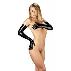 gloves long\ black\ S