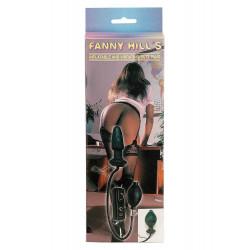 Fanny Hills Black Butt Plug