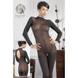 Longarm Catsuit Black M/L