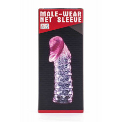 Male-Wear Penis Sleeve Pink
