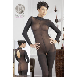 Longarm Catsuit Black S/M