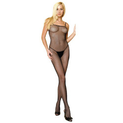 728670 Fishnet Bodystocking O/S Black
