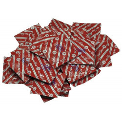 LONDON CONDOMS ROT (strawberry) 100 PCS