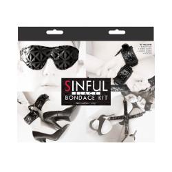 Sinful Bondage Kit Black