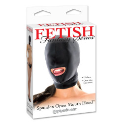 Fetish Fantasy Series Spandex Open Mouth Hood
