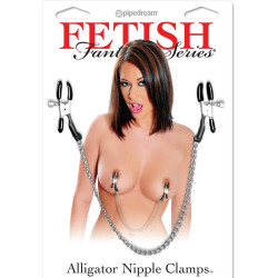 Fetish Fantasy Series Alligator Nipple Clamps
