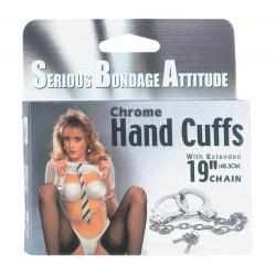 Chrome Handcuffs Metal Handcuffs