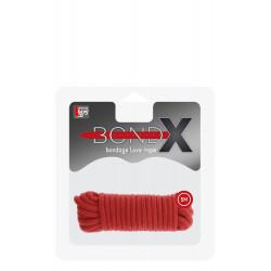 Bondx Love Rope 5 m Red