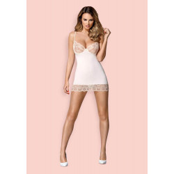 874-CHE-2 chemise & thong S/M