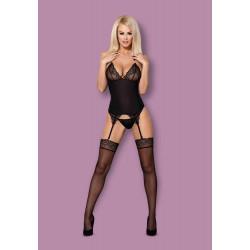 828-COR-1 corset & thong S/M
