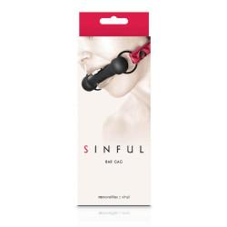 Sinful - Bar Gag - Pink
