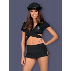 Police uniform S/M black