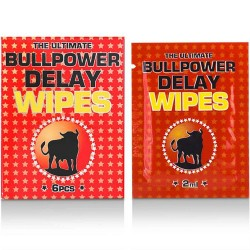 Bull Power: Wipes Delay 6 pcs x 2 ml