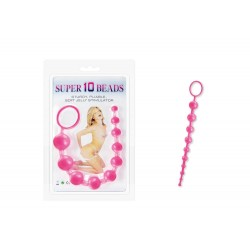 Charmly Super 10 Beads Pink