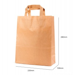 Paper Bag - 220x280x100 mm